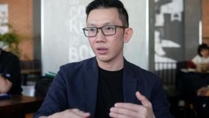 Nguyễn Huy Tâm với cuốn sách Cảm nhận châu Á - Lời thì thầm từ phương Đông