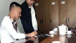 Phát tán thông tin giả mạo Đài Truyền hình Việt Nam trên tài khoản Facebook Huấn 'hoa hồng'.