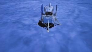 Tàu khám phá Mặt Trăng của Trung Quốc trở về mang theo 2kg đá