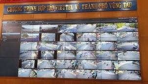 Trung tâm điều hành đô thị thông minh TP Vũng Tàu hoạt động với hơn 1.100 camera