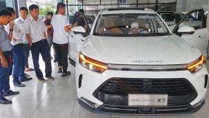 Xe ô tô xuất xứ từ Trung Quốc đã tăng vọt tại thị trường Việt Nam