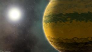 Phát hiện dấu vết siêu hành tinh còn ''sơ sinh'' nặng bằng 133 Trái Đất