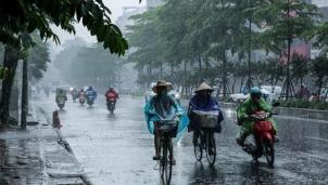 Dự báo thời tiết ngày mai 28/7: Đêm và sáng mai Miền Bắc tiếp tục có mưa giông rải rác.