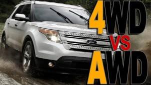 AWD và 4WD trên ô tô là gì - Giống và khác nhau thế nào?