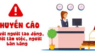 Clip: Khuyến cáo đối với người lao động, người làm việc, người bán hàng tại khu dịch vụ trong dịch Covid-19