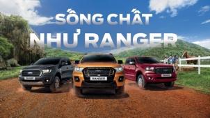 """Ford khởi động chiến dịch sống """"chất"""" như Ranger"""