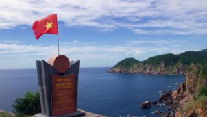Lễ chào cờ đầu năm 2021 tại nơi đón bình minh đầu tiên trên đất liền Việt Nam