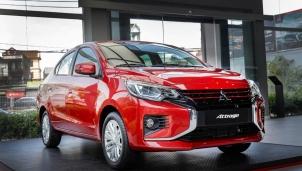 Mitsubishi trình làng Attrage CVT Premium 2021, nâng cấp hiệu suất an toàn