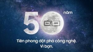 Samsung: Mừng sinh nhật tặng 50 Smart TV 4k 50 inch và 1.000 One Remote bản giới hạn