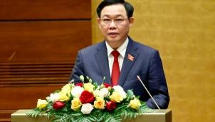 Toàn văn phát biểu nhậm chức của Tân Chủ tịch Quốc hội khóa XV Vương Đình Huệ