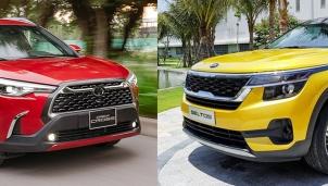 Toyota Corolla Cross và Kia Seltos: Doanh số bán hàng ấn tượng khi vừa ra mắt