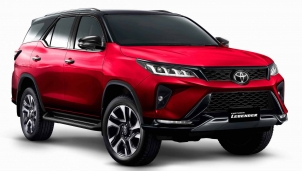 Toyota Fortuner Legender phong cách hơn, thể thao hơn