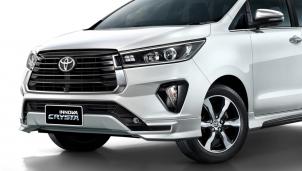 Toyota Innova Crysta 2021 máy dầu 2.8L mạnh mẽ và kinh tế
