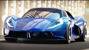 Estrema Fulminea - Siêu xe điện đầu tiên có tốc độ cực nhanh