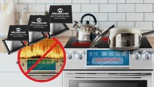 Microchip công bố Chíp điều khiển giúp an toàn cháy nổ cho thiết bị nhà bếp
