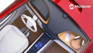 Microchip công bố thiết kế sặc không dây công suất lên đến15W với chuẩn Qi 1.3 trên xe ô tô