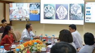 Telehealth giúp Bệnh viện Tai Mũi Họng Trung ương về gần với người dân vùng sâu vùng xa