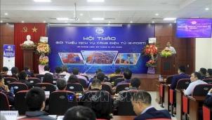Cảng Hải Phòng: Sớm triển khai dịch vụ cảng điện tử (E-port)