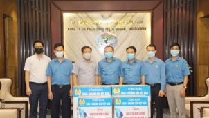 Công đoàn TKV thăm, động viên các đơn vị tiêu biểu của Than Mông Dương