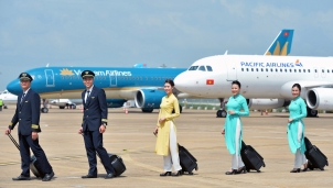 Vietnam Airlines bán vé với giá 'trong mơ' trên hầu hết đường bay nội địa