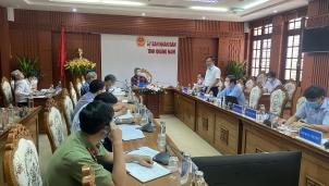 6/6 huyện tại Quảng Nam có đường dây 500kV mạch 3 đi qua chưa bàn giao xong mặt bằng