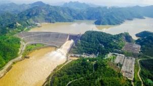 8h sáng ngày 30/9 mở một cửa xả đáy Nhà máy Thủy điện Hòa Bình