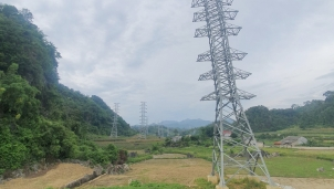 Đường dây 220kV Bắc Giang – Lạng Sơn còn vướng nhiều mặt bằng tại tỉnh Lạng Sơn