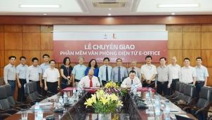 EVN chuyển giao phần mềm văn phòng điện tử cho Đại học Bách khoa Hà Nội