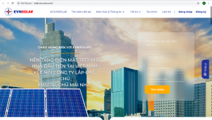 Đưa vào hoạt động thử nghiệm nền tảng EVNSOLAR để thúc đẩy phát triển điện mặt trời mái nhà