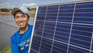 Khởi động dự án nuôi trồng thủy sản kết hợp Điện mặt trời tại Việt Nam