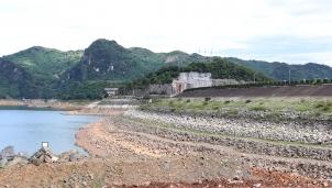 Mực nước hồ chứa thủy điện xuống thấp, nguy cơ ảnh hưởng đến cung cấp điện