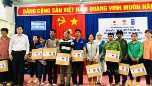 Ninh Thuận: 500 hộ nghèo nhận hỗ trợ cho các nhu cầu cơ bản để phòng chống COVID-19