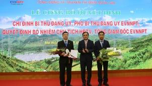 Tổng công ty Truyền tải điện Quốc gia có Chủ tịch HĐTV và Tổng giám đốc mới
