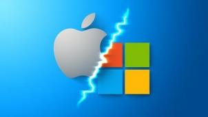 """""""Cuộc chiến"""" giữa Apple và Microsoft lại bắt đầu"""