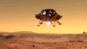Tàu thăm dò của Trung Quốc lăn bánh trên sao Hỏa