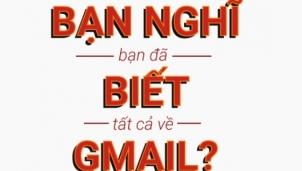 Bạn có chắc đã biết tất cả về các dịch vụ của Gmail?
