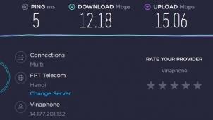 Cách tăng tốc đường mạng internet thời đứt cáp