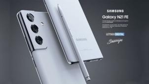 Điện thoại Samsung Galaxy Note 21 FE với concept mới - Bút S-Pen
