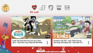 Youtube Kids Đã dễ dàng cài đặt đối với người dùng Việt