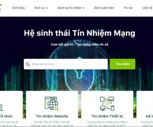 Hệ sinh thái Tín nhiệm mạng - Không gian an toàn cho người dùng Việt