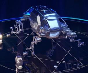 """Hyundai Motor: Hé lộ nguyên mẫu ô tô có thể đi bộ """"Elevate"""""""