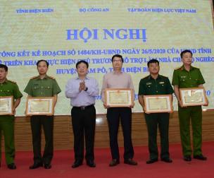 Huyện Nậm Pồ (Điện Biên): Hơn 600 ngôi nhà mới được EVN tài trợ xây dựng