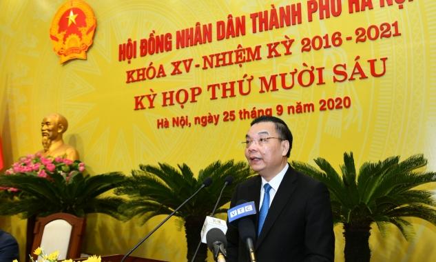 Tân Chủ tịch UBND TP Hà Nội Chu Ngọc Anh được bầu với 100% số phiếu tán thành
