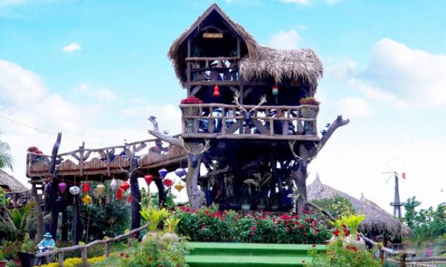 Khu du lịch sinh thái Mỹ Luông: Nơi hội tụ nhiều điều mới lạ