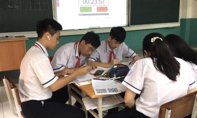 TP.HCM khảo sát trực tuyến ngoại ngữ học sinh lớp 9, 11