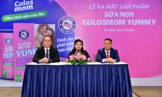 Colosmom Yummy – Công nghệ sữa Mỹ cho tương lai trẻ em Việt