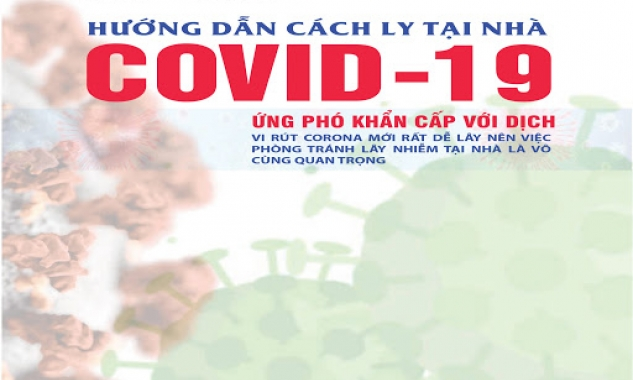 Hướng dẫn cách ly tại nhà, nơi lưu trú trong dịch Covid-19