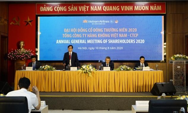 Đại hội đồng cổ đông Vietnam Airlines: Ghi nhận thành quả 2019, nỗ lực vượt khó khăn 2020
