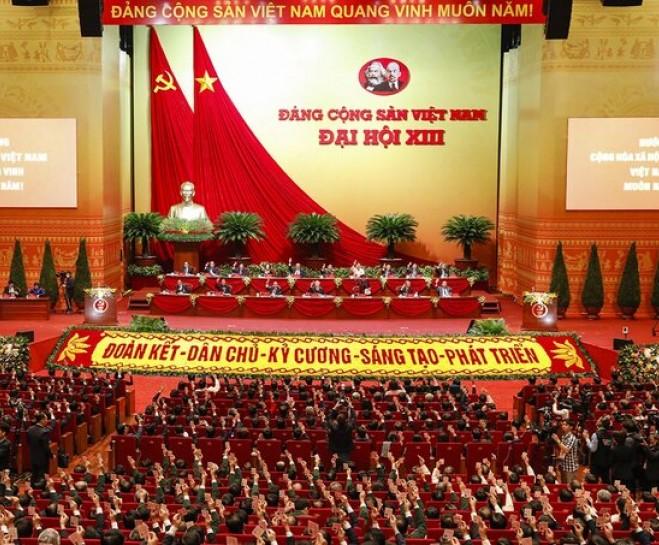 Đại hội XIII của Đảng tổ chức phiên khai mạc trọng thể