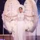 Khánh Vân trình diễn trang phục dân tộc tại Miss Universe